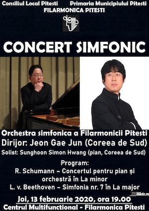 Concert simfonic - Jeon Gae Jun