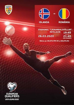 Islanda vs Romania EURO2020