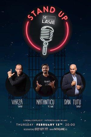 Stand up comedy cu Natanticu, Dan Tutu si Varza
