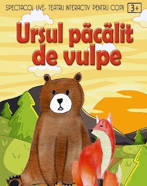 Ursul pacalit de vulpe la Artist Cafe