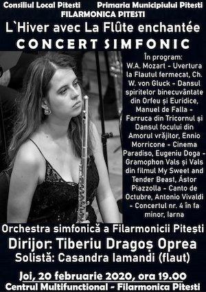L'Hiver avec La Flute entantee concert simfonic