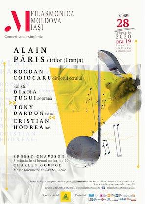 Concert vocal-simfonic - Chausson, Gounod