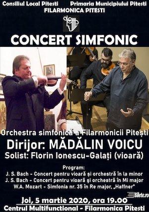 Madalin Voicu si Florin Ionescu la Filarmonica Pitesti