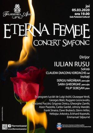 Eterna Femeie - Concert simfonic