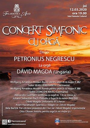 Concert simfonic cu orga