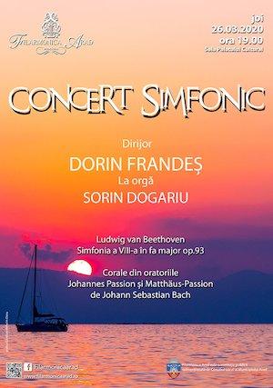 Concert simfonic - Dorin Frandeș