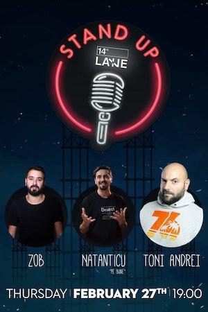 Stand Up Comedy cu Natanticu, Toni Andrei si Zob