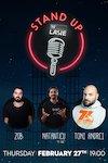 bilete Stand Up Comedy cu Natanticu, Toni Andrei si Zob