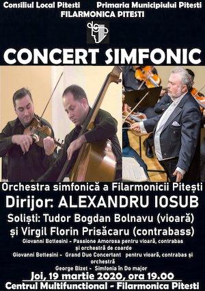 Concert simfonic Alexandru Iosub