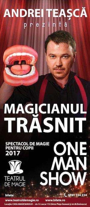 Bilete la  Magicianul Trasnit