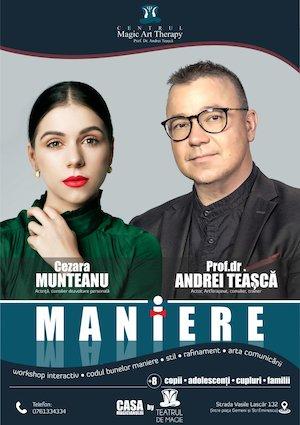 Bilete la  Maniere - Teatrul de Magie