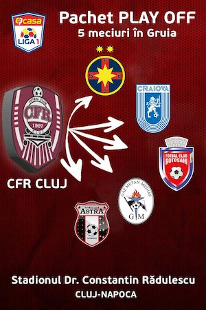 PACHET Play-OFF CFR 1907 Cluj