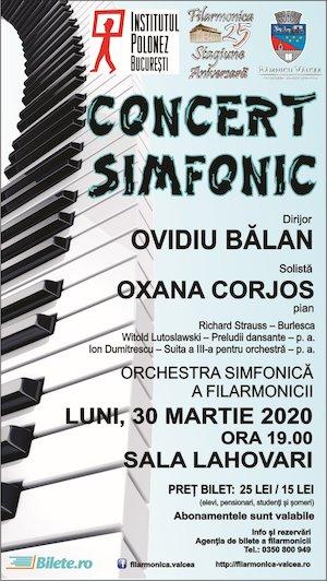 Concert Simfonic la Valcea