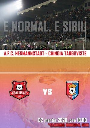 AFC Hermannstadt - AFC Chindia Targoviste - CASA Liga 1