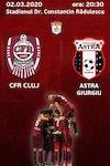bilete CFR 1907 Cluj - AFC Astra Giurgiu