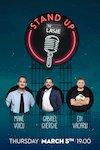 bilete Stand up Comedy Cu Mane Voicu, Gabriel Gherghe si Edi Vacariu