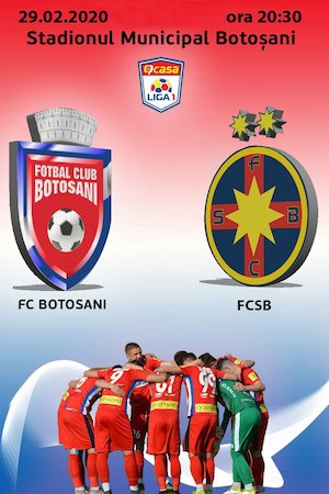 Bilete la  FC Botosani - FCSB - CASA Liga 1
