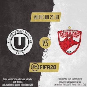 Bilete la  FC UNIVERSITATEA Cluj - Dinamo Bucuresti
