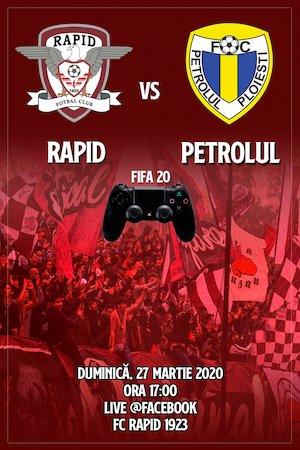 FC Rapid 1923 - Petrolul Ploiesti