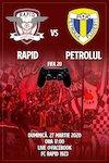 bilete FC Rapid 1923 - Petrolul Ploiesti