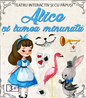 Bilete la  Alice in lumea Minunata Online