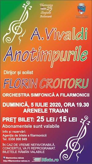 Bilete la  Anotimpurile - Antonio Vivaldi