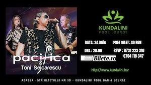 Concert Pacifica & Toni Seicarescu