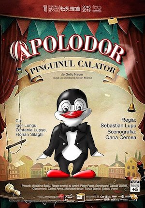Bilete la  Apolodor, pinguinul calator