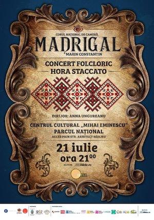 Bilete la  Stagiunea estivala Madrigal