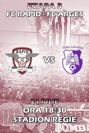 Bilete la  FC Rapid 1923 - FC Arges