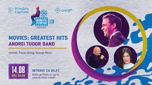 Concert Andrei Tudor Band - Movies: Greatest Hits
