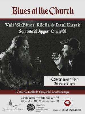 Blues at the Church - Concert cu Vali Racila și Raul Kusak