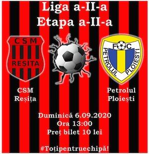 Bilete la  CSM Resita - FC Petrolul Ploiesti