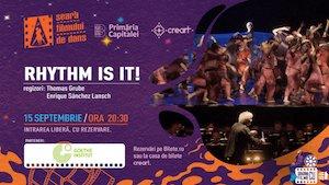 Bilete la  Seara Filmului de Dans – Rhythm Is It!