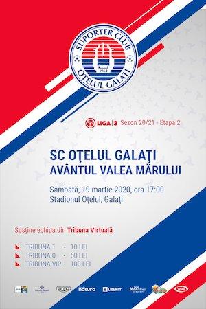 SC Otelul Galati - Avantul Valea Marului