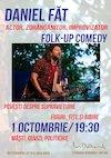 bilete Folk-up Comedy cu Daniel Fat