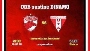 Bilete la  Dinamo Bucuresti vs Uta Arad