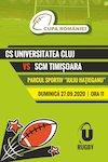 bilete CS Universitatea Cluj - SCM Timisoara - Cupa Romaniei