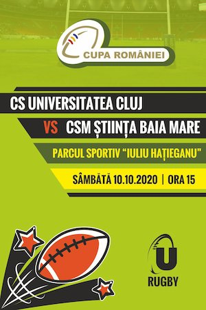 Bilete la  CS Universitatea Cluj - CSM Stiinta Baia Mare - Cupa Romaniei