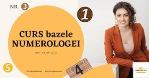 Bilete la  Curs Bazele Numerologiei