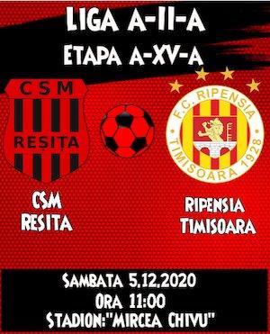 CSM Resita - Ripensia Timisoara