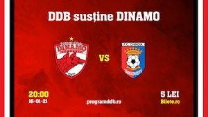 Bilete la  FC Dinamo - FC Chindia Targoviste