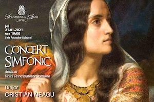 Bilete la  Concert simfonic dedicat Unirii Principatelor Romane