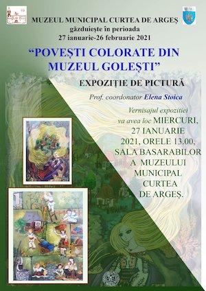 Bilete la  Povesti colorate din Muzeul Golesti