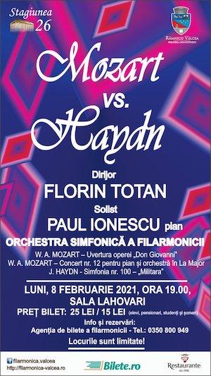 Bilete la  Mozart vs Haydn