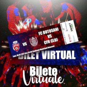 Bilete la  FC Botosani - CFR 1907 Cluj