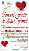 bilete Concert Festiv de Ziua Femeii