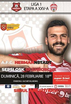 AFC Hermannstadt - Sepsi OSK SF. Gheorghe