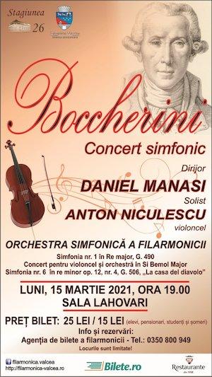 BOCCHERINI - CONCERT SIMFONIC