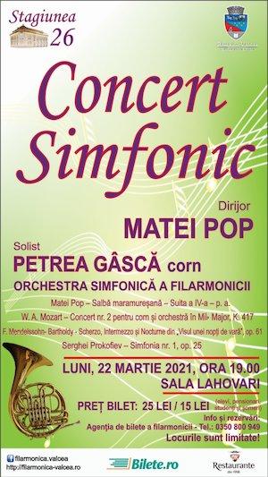 Concert simfonic - RV